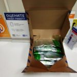 Ребус от почты Россия коробка